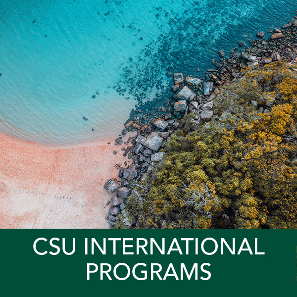 CSU International Programs: Academic year programs for students from all universities within the CSU system. Immersion programs at over 50 distinguished universities in 18 countries. Earn CSU credit towards your major, minor, and GEs.